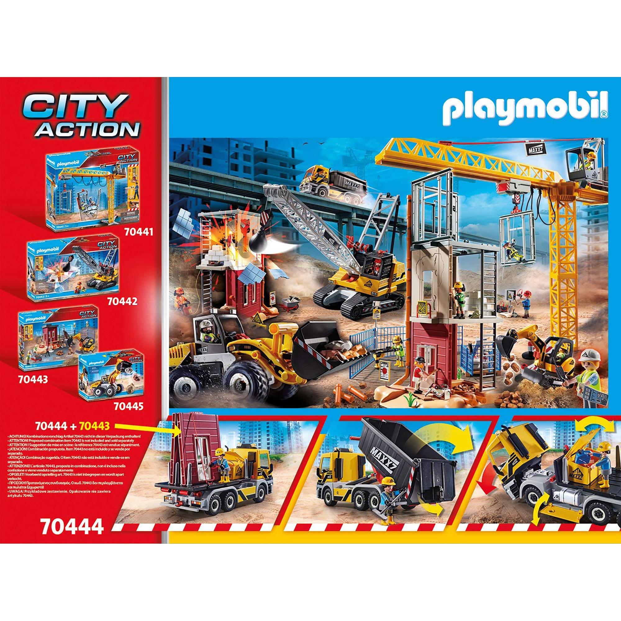 Camion cu remorca detasabila playmobil city action - 1