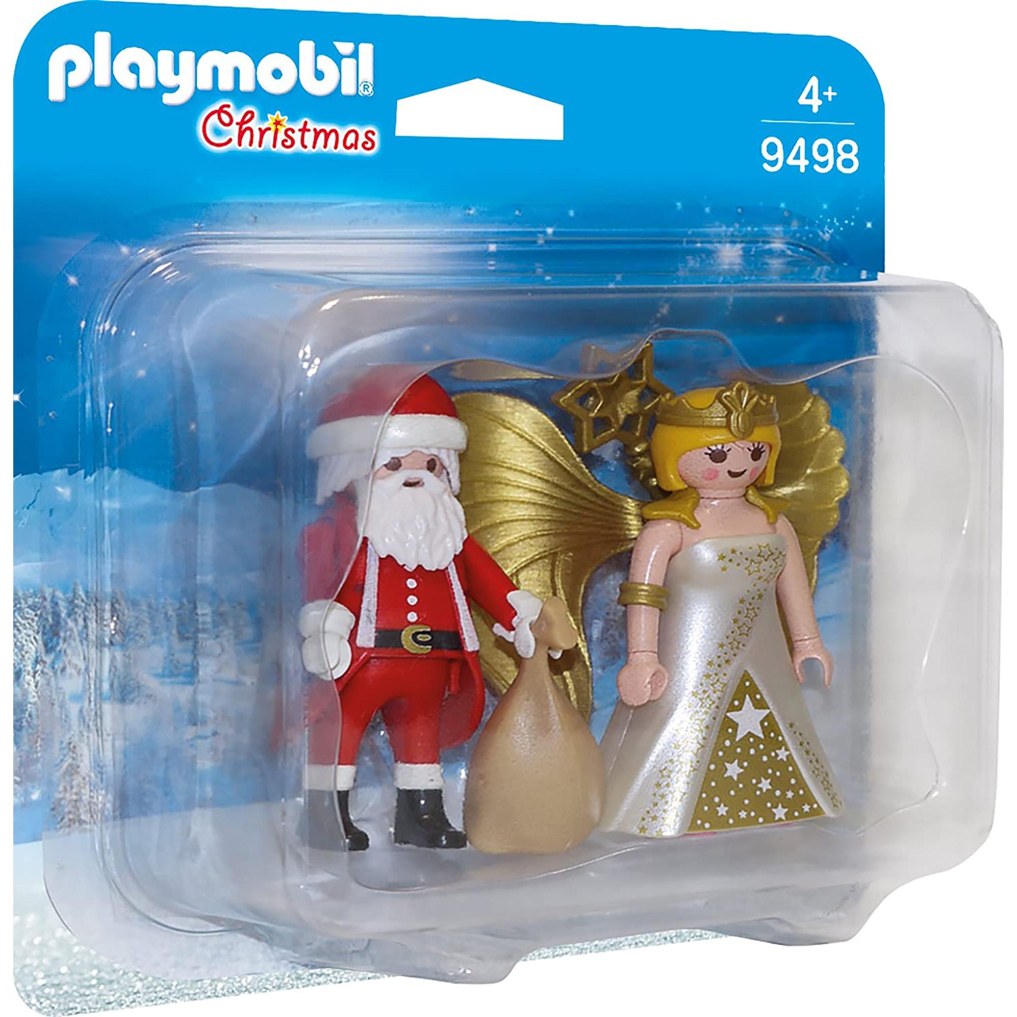 Figurine mos craciun si ingeras playmobil christmas