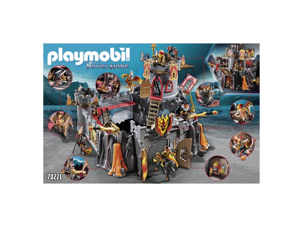 Fortareata banditilor playmobil novelmore - 1