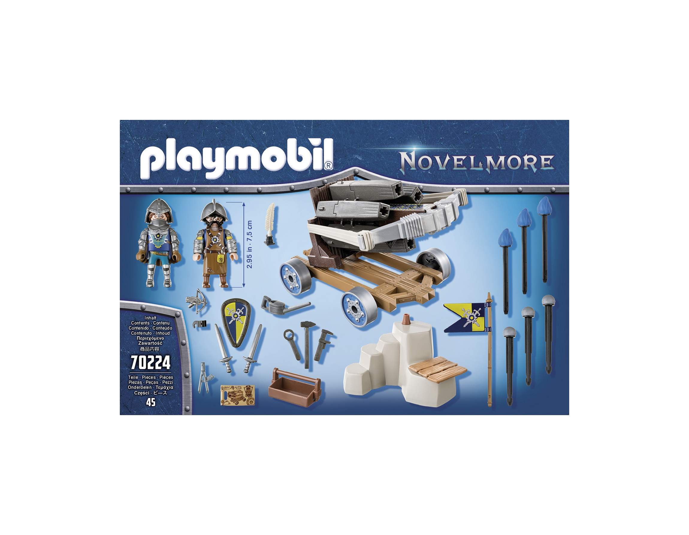 Balista cavalerilor playmobil novelmore - 1