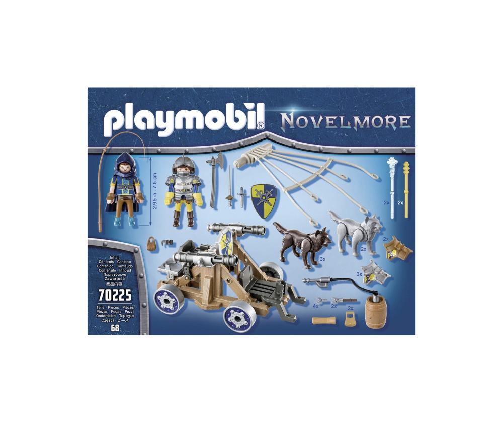 Echipa lupilor cu tun playmobil novelmore - 1