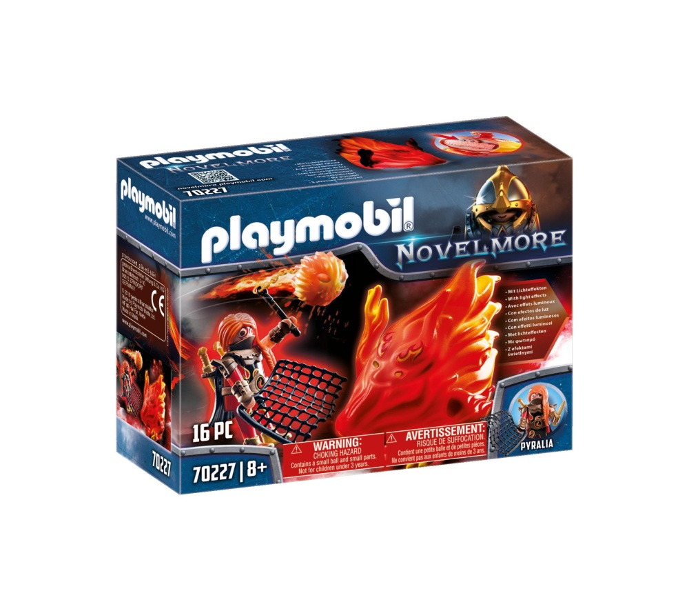 Bandit si spiritul focului playmobil novelmore