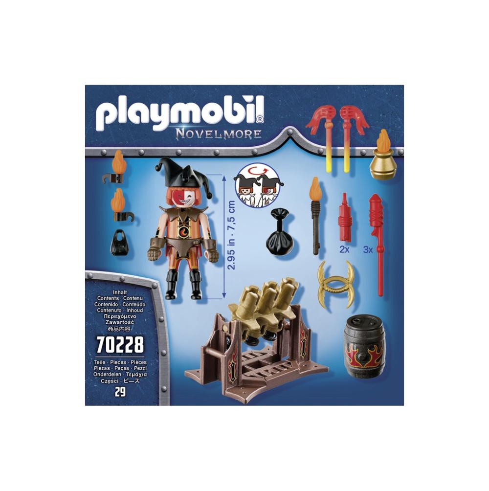 Maestrul focului playmobil novelmore - 1