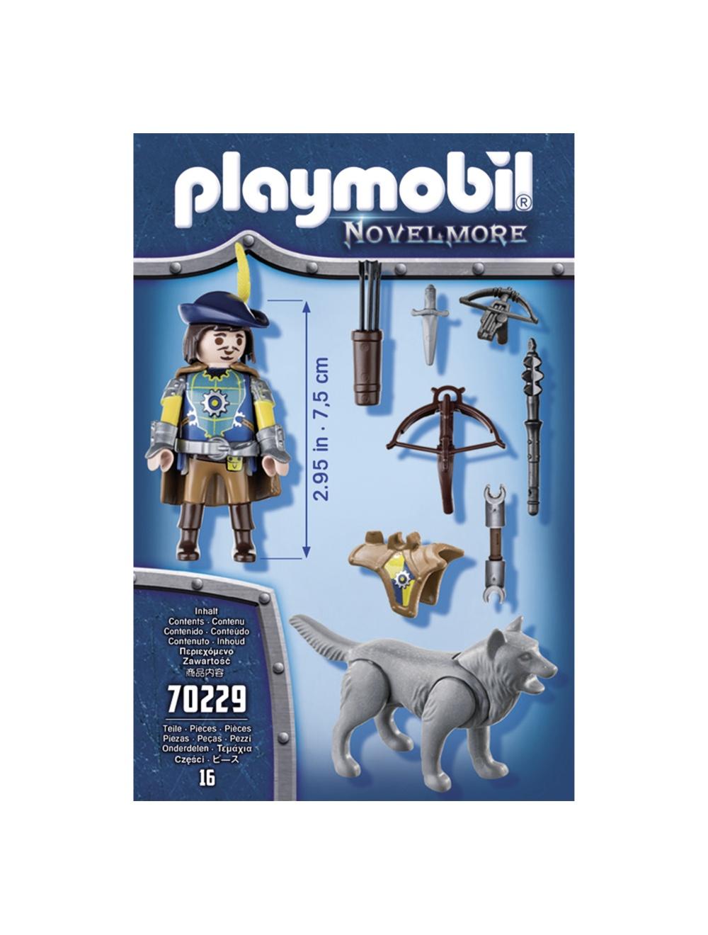 Cavaler si lup playmobil novelmore - 1