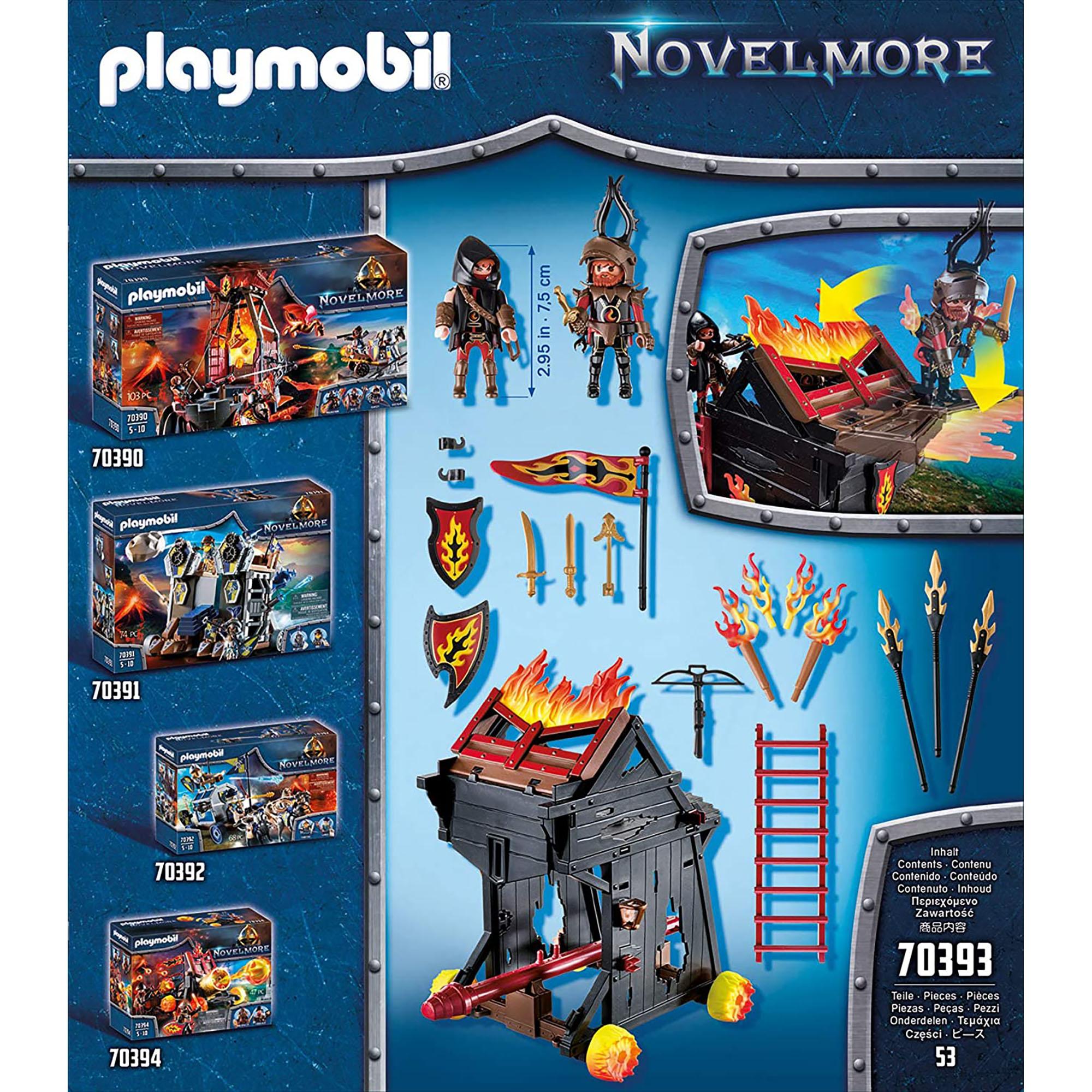 Banditi si berbec de foc playmobil novelmore - 1