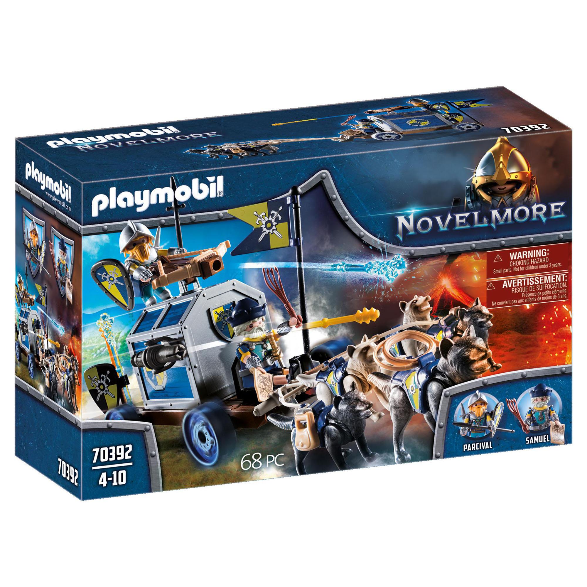 Transportor de comori playmobil novelmore