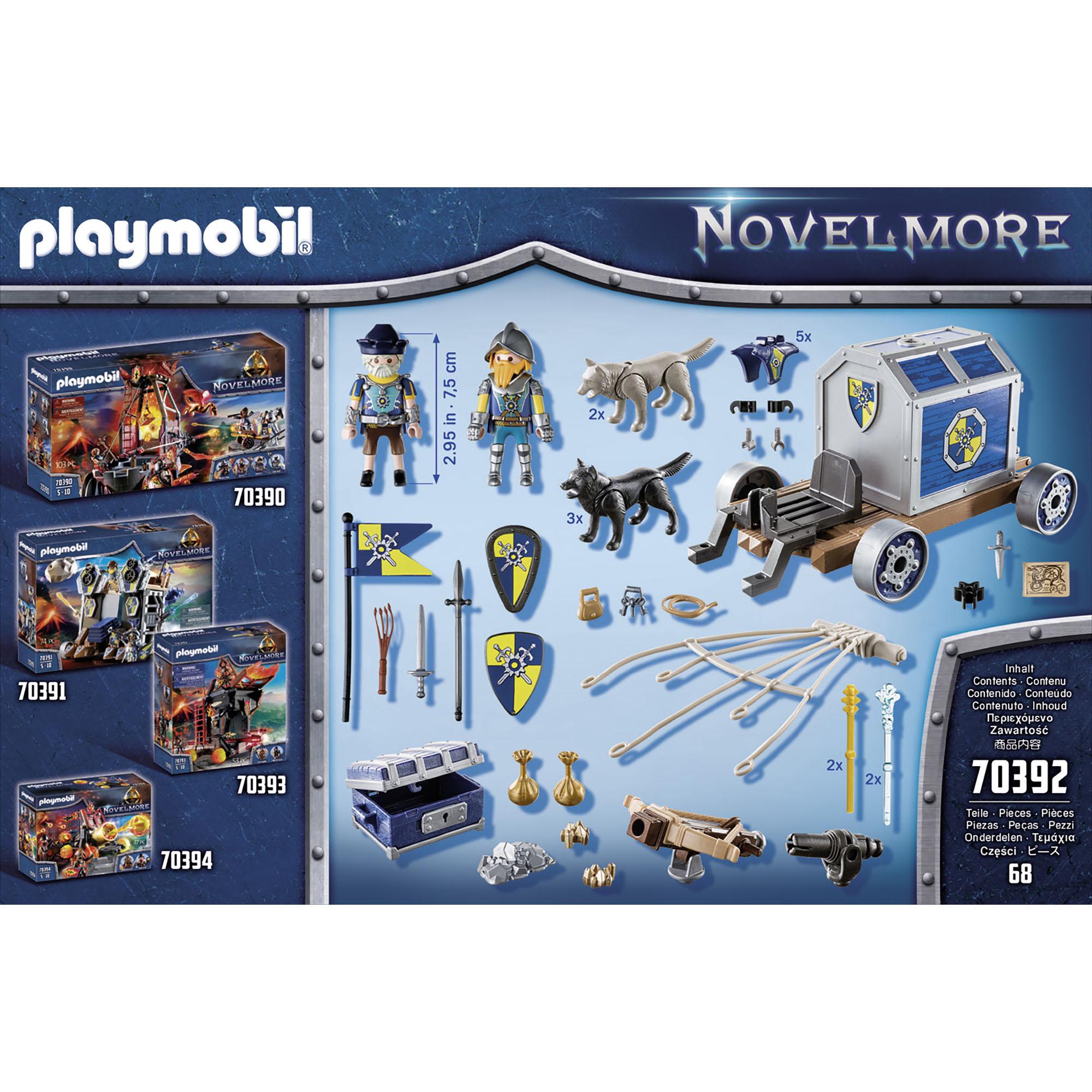 Transportor de comori playmobil novelmore - 1