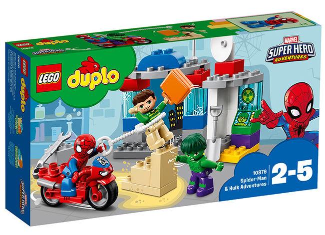 Aventurile lui spiderman si hulk lego duplo imagine