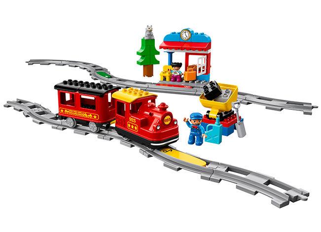 Tren cu aburi lego duplo - 1