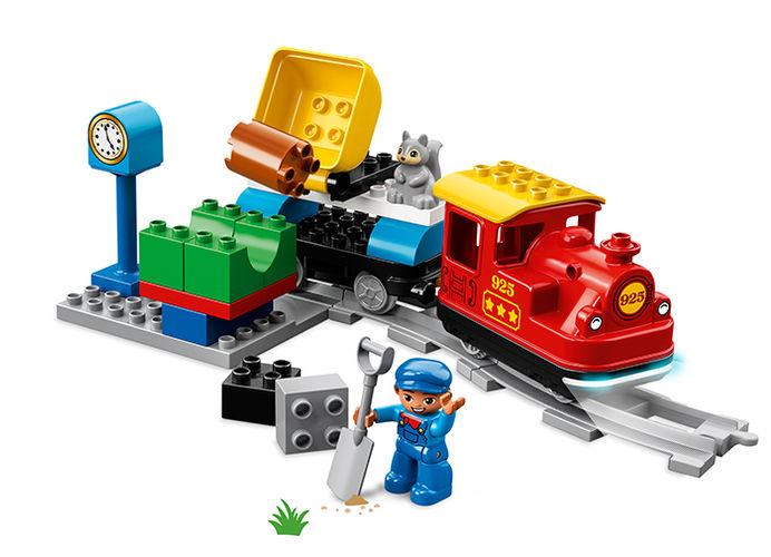 Tren cu aburi lego duplo - 2