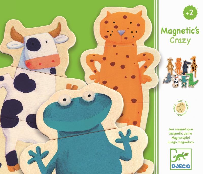 Joc cu magneti animale amuzante djeco