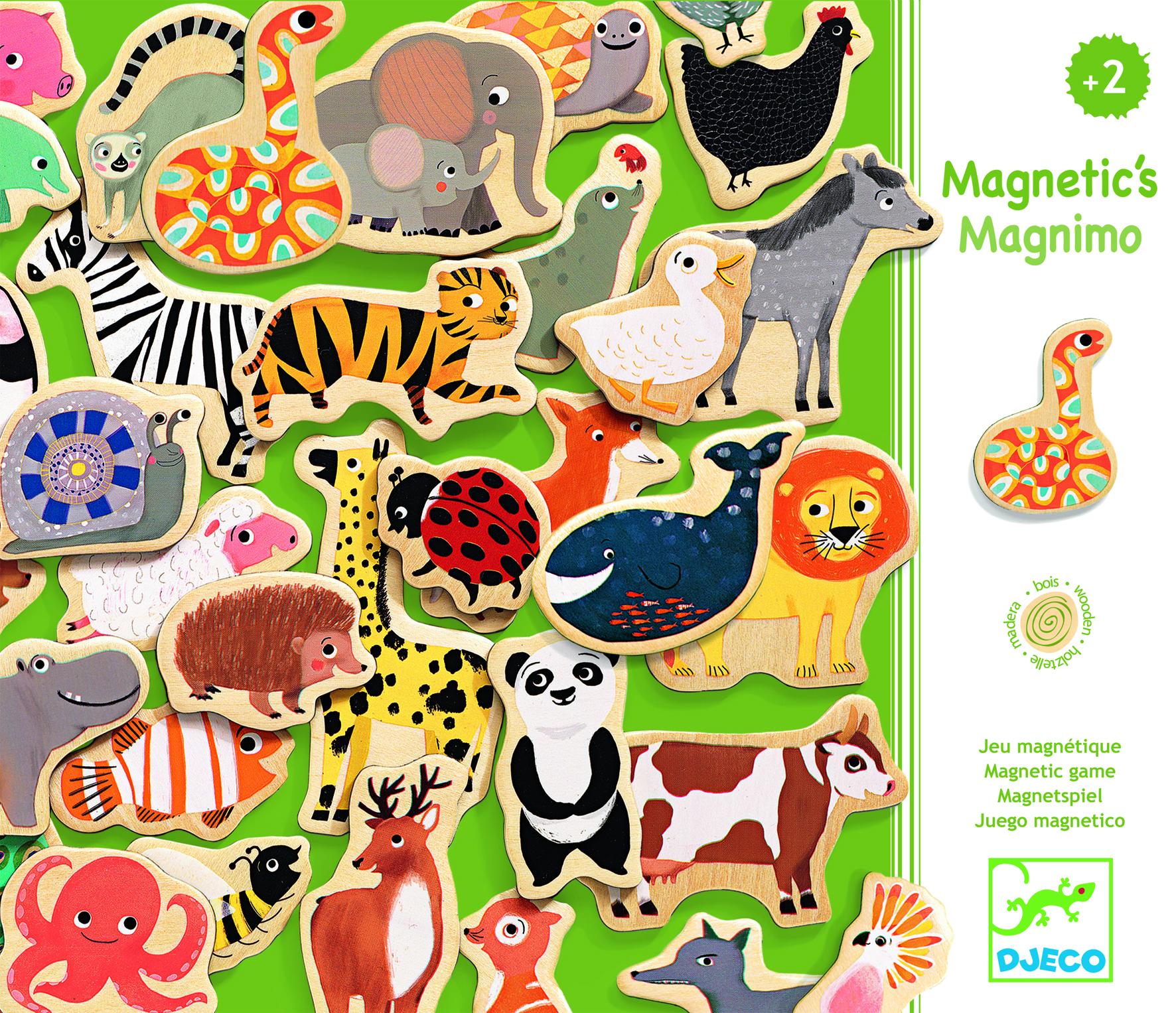 Joc cu magneti animale dragute djeco