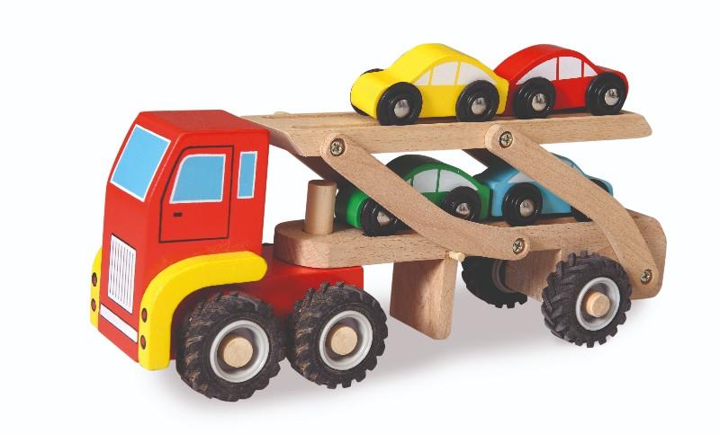 Camion cu masini egmont toys imagine