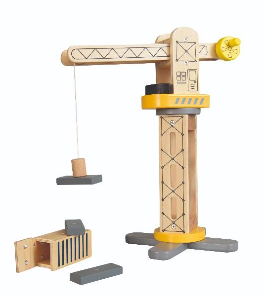 Macara din lemn egmont toys imagine