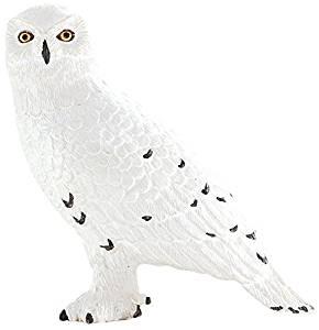 Figurina bufnita polara mojo