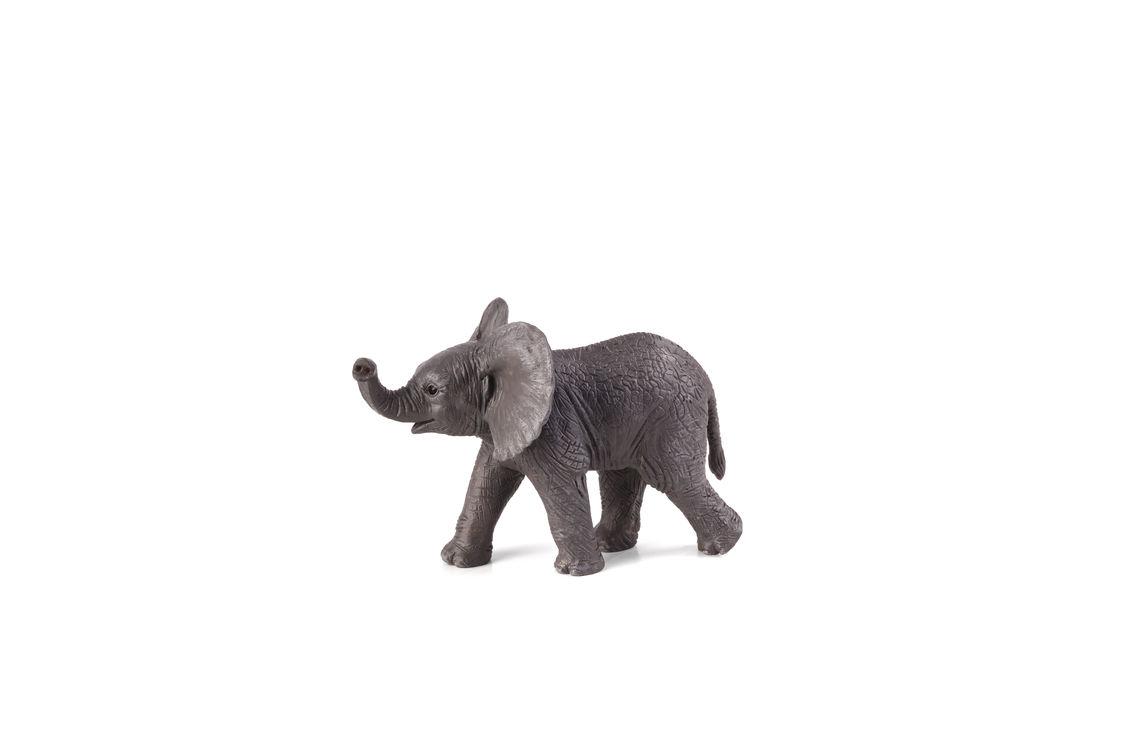 Figurina pui de elefant african mojo