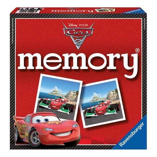 Jocul memoriei disney cars 2 ravensburger imagine