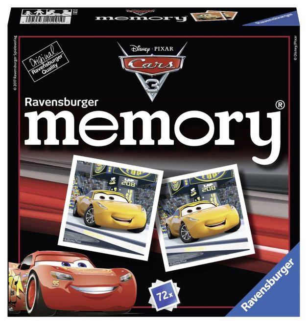 Jocul memoriei disney cars 3 ravensburger imagine