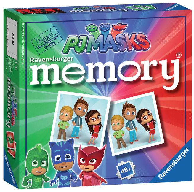Jocul memoriei eroi in pijamale ravensburger imagine