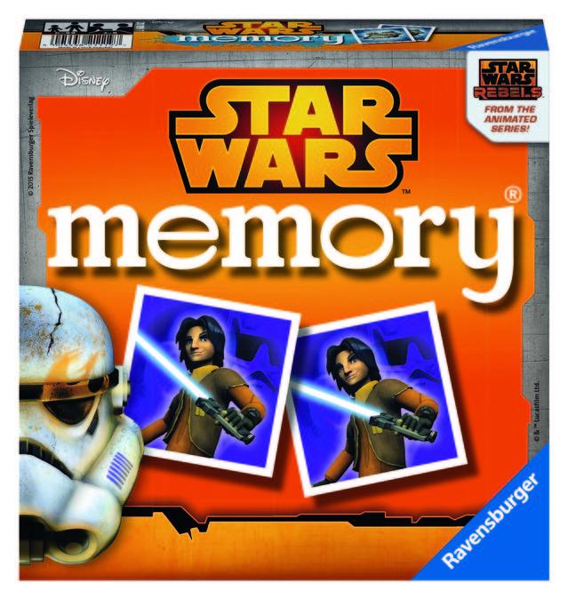 Jocul memoriei star wars ravensburger imagine