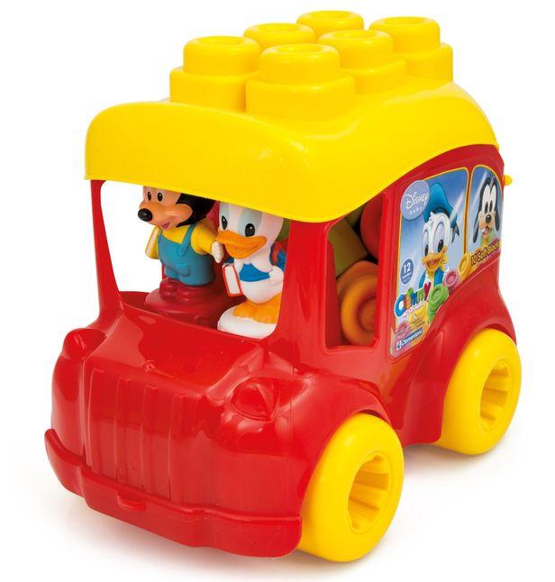 Autobuz cu cuburi mickey mouse clementoni imagine
