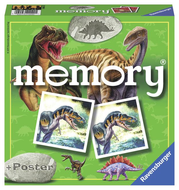 Joc memorie cu dinozauri ravensburger imagine
