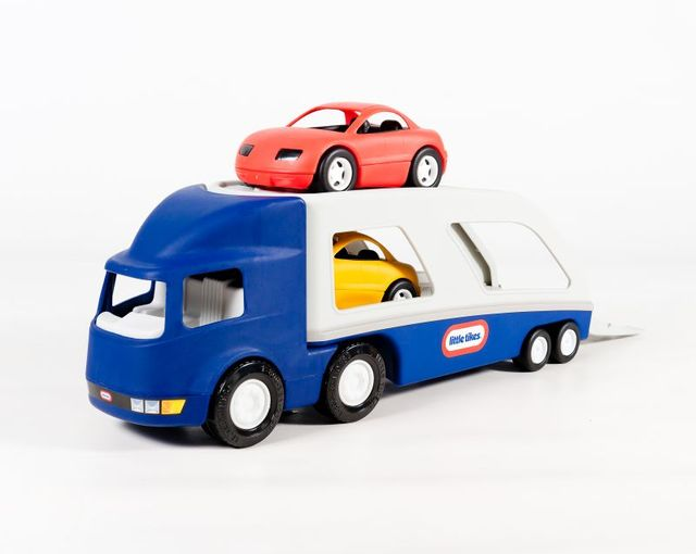 Transportor masini albastru little tikes imagine