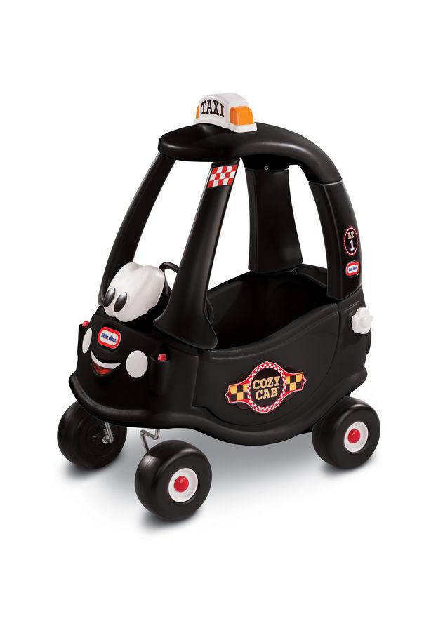 Masinuta neagra taxi cozy coupe little tikes