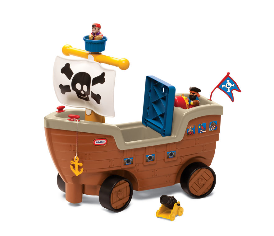 Barca piratilor little tikes imagine