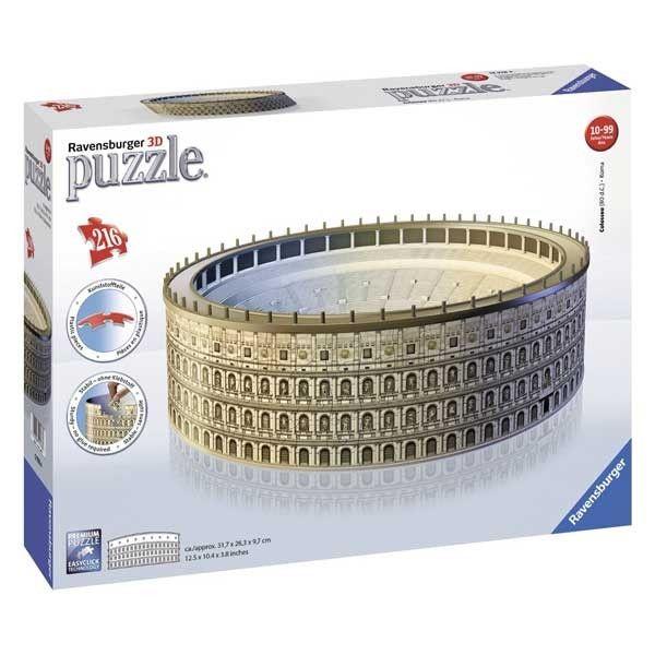 Puzzle 3d colosseum 216 piese ravensburger imagine