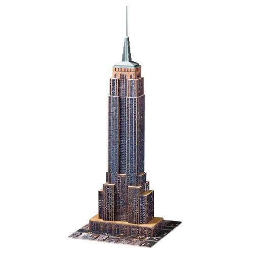 Puzzle 3d empire state building 216 piese ravensburger imagine