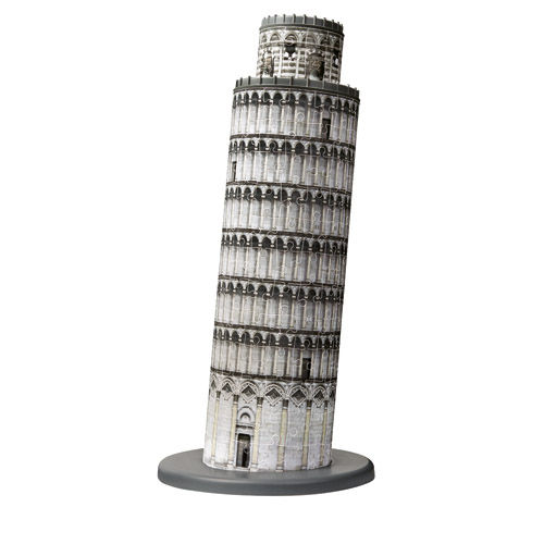 Puzzle 3d turnul din pisa 216 piese ravensburger imagine