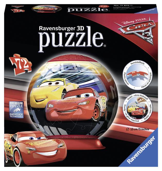 Puzzle 3d cars 72 piese ravensburger imagine