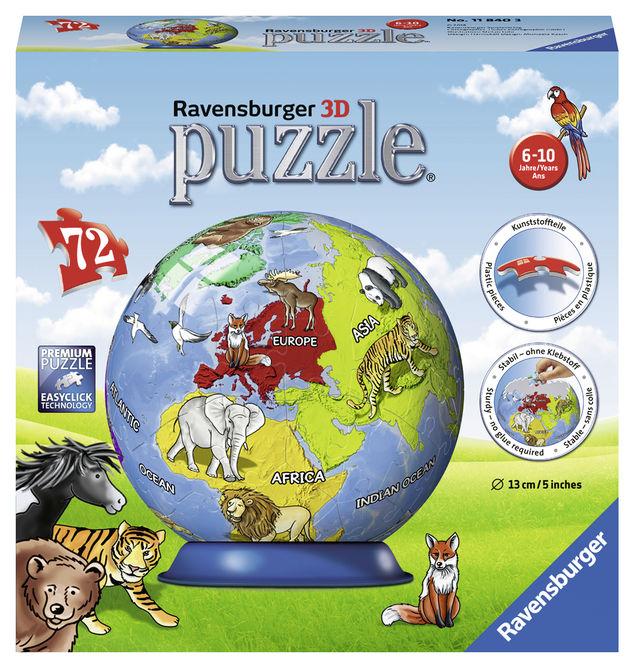Puzzle 3d pamanatul 72 piese ravensburger imagine