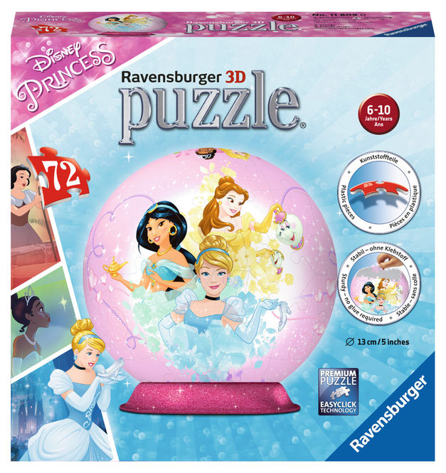 Puzzle 3d printese disney 72 piese ravensburger imagine