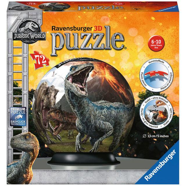 Puzzle 3d jurassic world 72 piese ravensburger imagine
