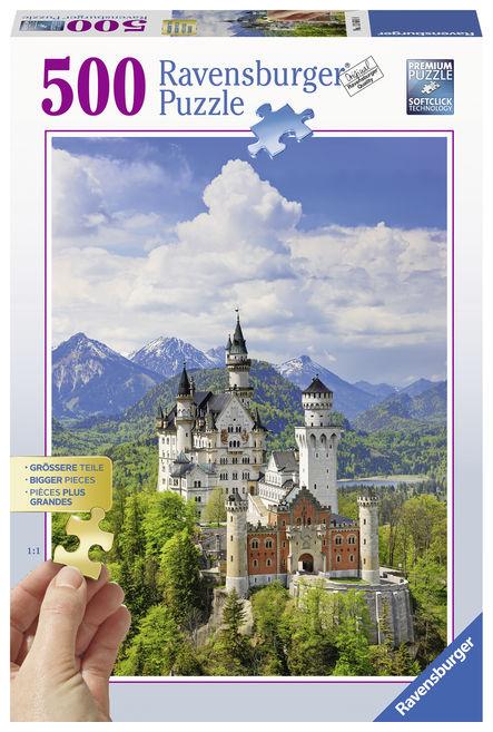 Puzzle castel 500 piese ravensburger imagine