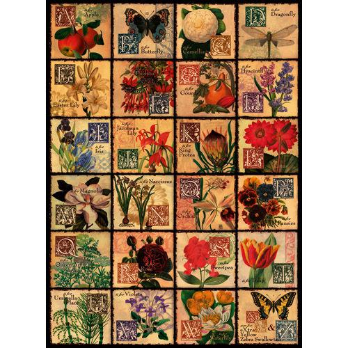 Puzzle flori 500 piese ravensburger imagine