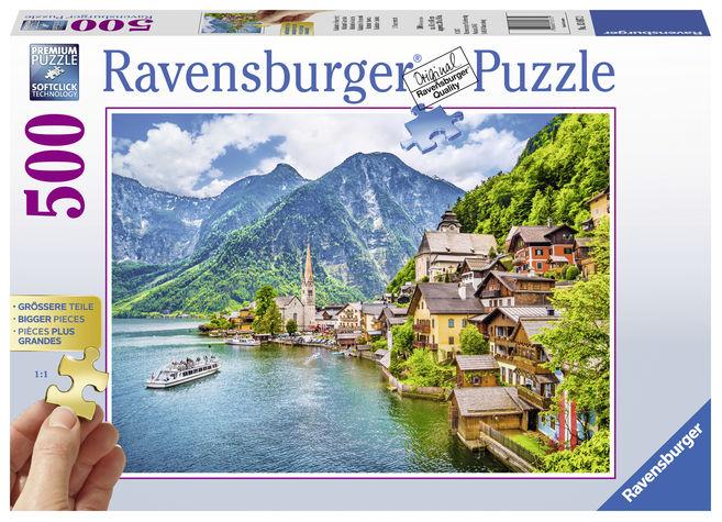 Puzzle hallstatt austria 500 piese ravensburger