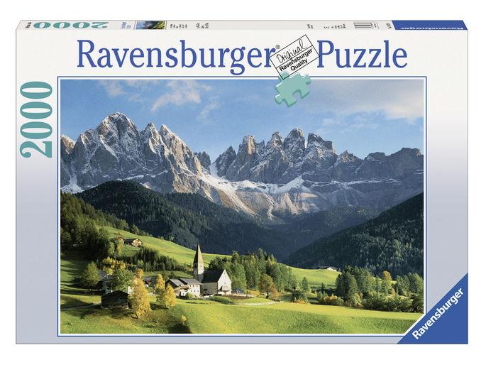 Puzzle adulti dolomiti 2000 piese ravensburger