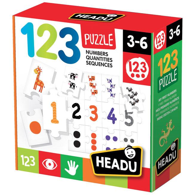 Joc ordonare tip puzzle 123 headu