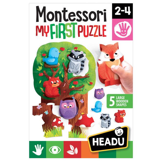 Joc puzzle padure montessori headu imagine