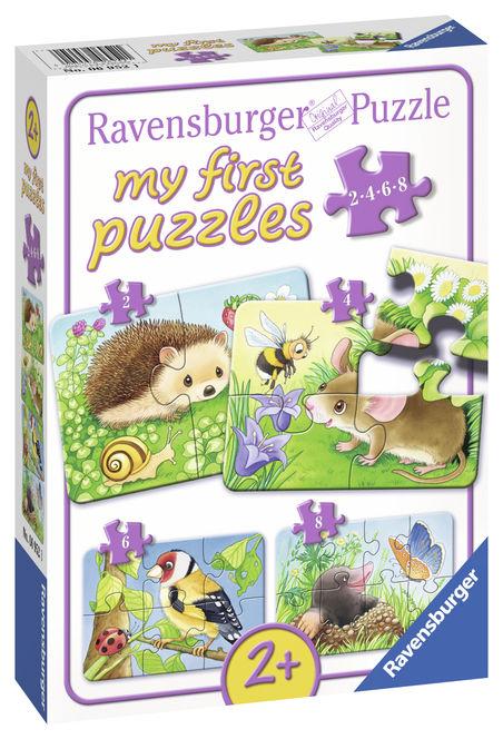 Primul meu puzzle animale din padure ravensburger