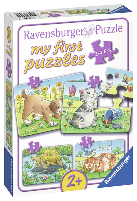 Primul meu puzzle animale ravensburger