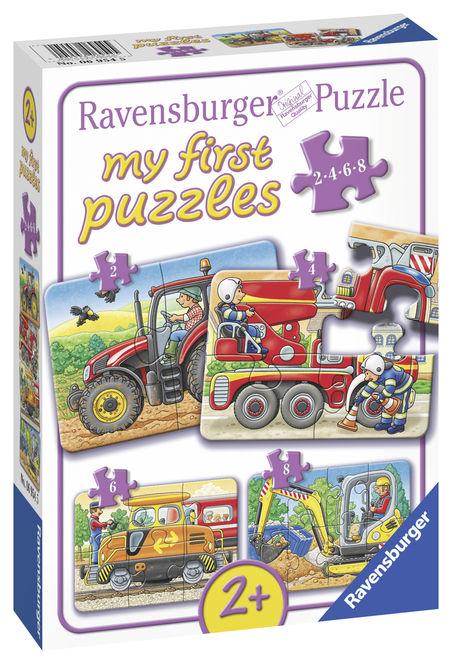 Primul meu puzzle utilaje agricole ravensburger