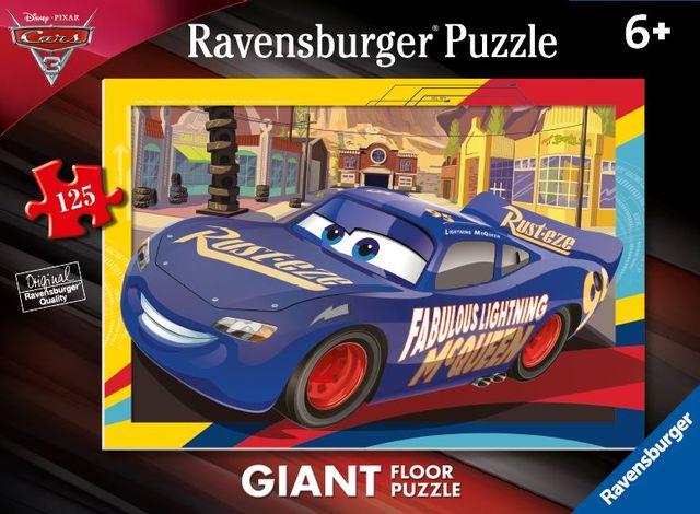 Puzzle masini 125 piese ravensburger imagine