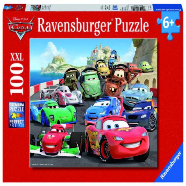 Puzzle cursa de masini 100 piese ravensburger