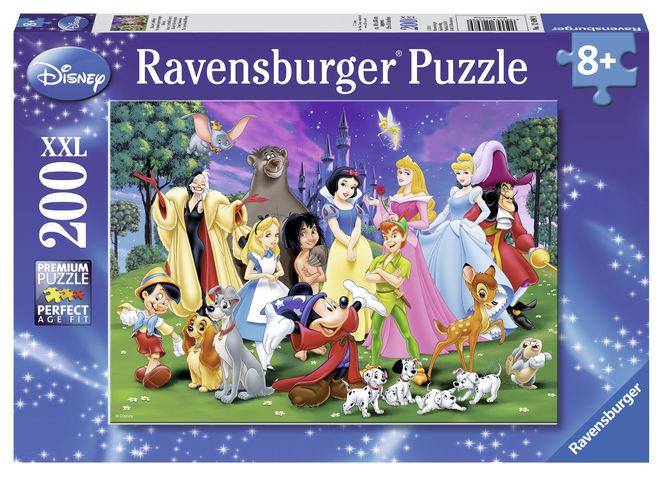 Puzzle personaje disney 200 piese ravensburger imagine