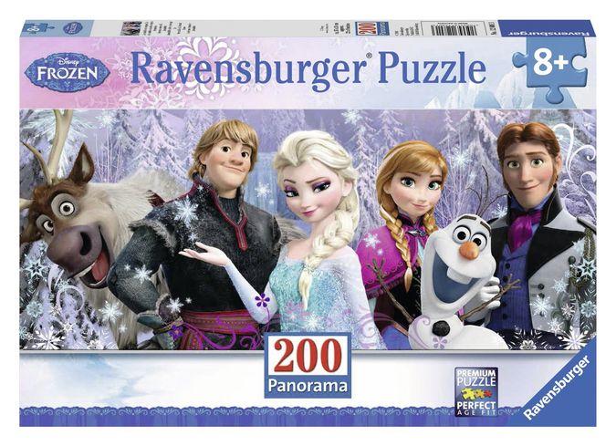 Puzzle frozen panorama inghetata 200 piese ravensburger imagine