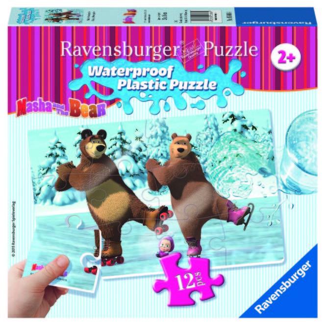 Puzzle masha si ursul copii ravensburger imagine